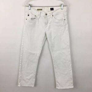 Adriano Goldschmeid Tomboy crop denim jeans